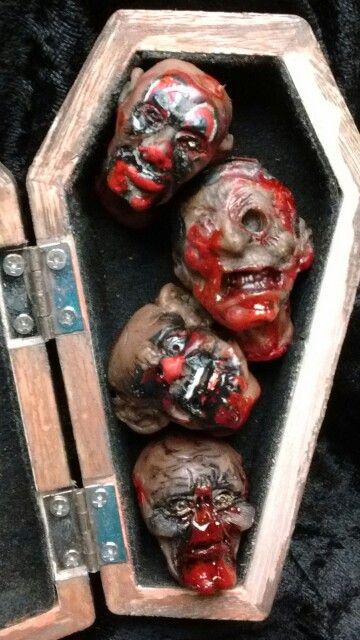 Lil zombie heads