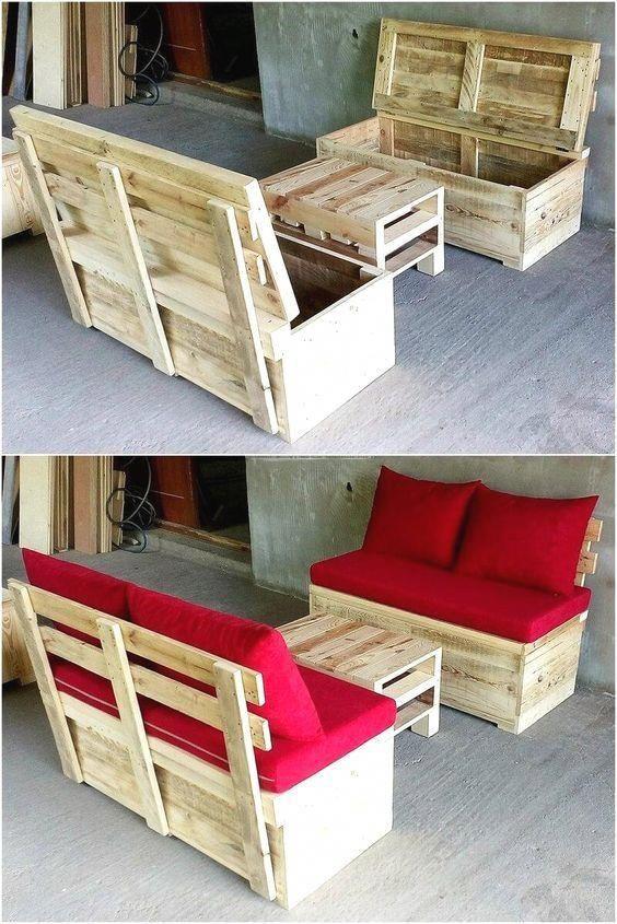 New Pallet Furniture Ideas Palletfurniture Homedecorpalets In