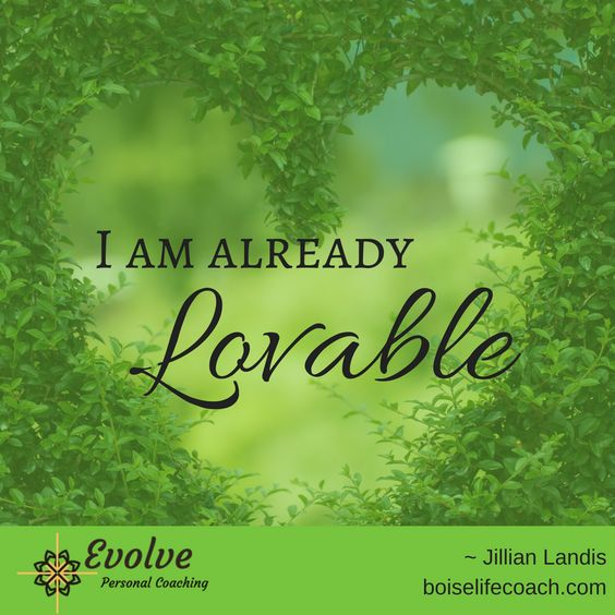 So many of us struggle with the belief that we are worthy of love and belonging. In our scarcity mindset, we seek to be enough, do enough, and have enough, hoping that eventually it will all be enough to deserve love. The truth is, you are already enough and you are already loveable. There is nothing more you need to do or be. You are loveable. <3 #quotes #quotedaily #evolve #evolvepersonalcoaching #amazingchanges #recovery #healing #selflove #selfcare #affirmations #Iamloveable #Iamenough