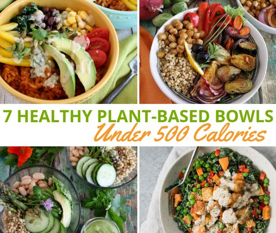 Top 7 Healthy Plant Based Bowls For 500 Calories Sharon Palmer The Plant Powered Dietitian Healthy Vegan Bowl Recipes 500 Calorie Dinners