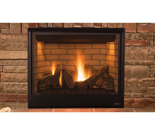 Astria Fireplaces-Scorpio direct-vent gas fireplace with remote ...