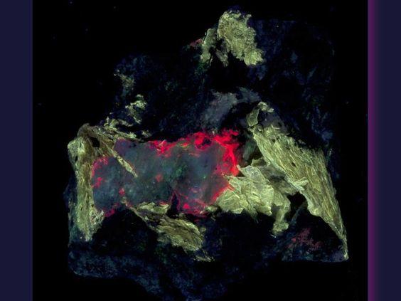 Tugtupite, Polylithionite, Chkalovite - SW
