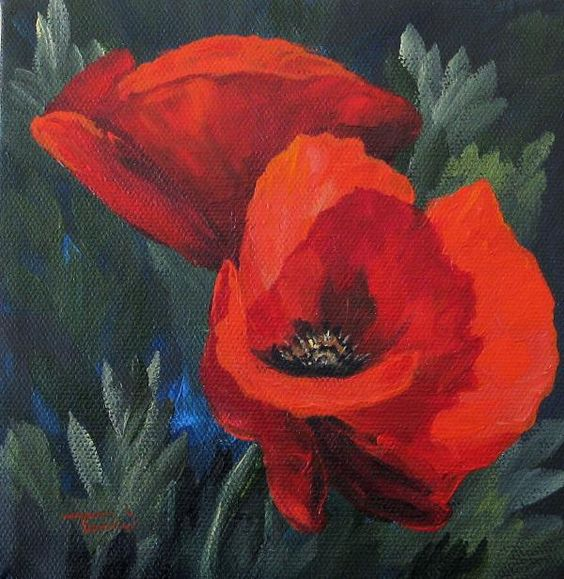 Torrie Smiley - Two Poppies