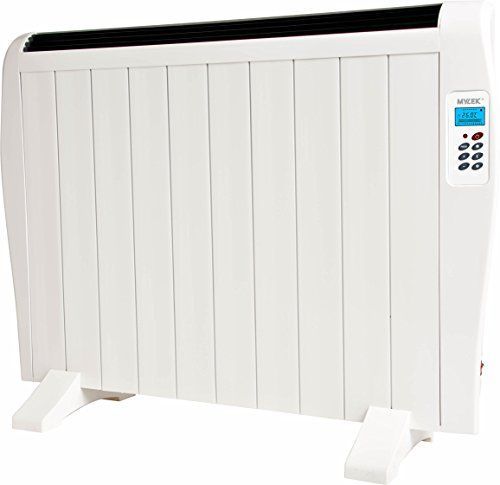 1.5kW White Panel Heater with Timer