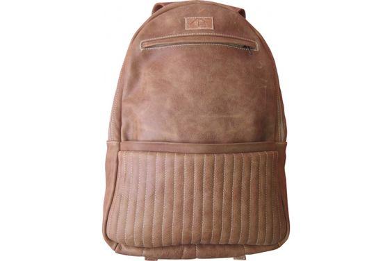 Bourbon Leather Backpack – Hazelnut by Dark Horse on hellopretty.co.za