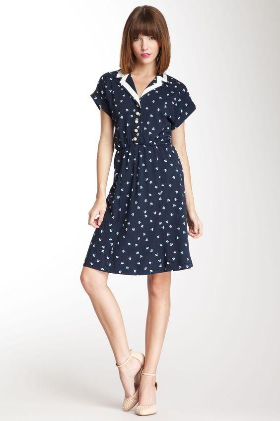 Orla Kiely Summer Printed Tea Dress. Cute!   ...MKL...