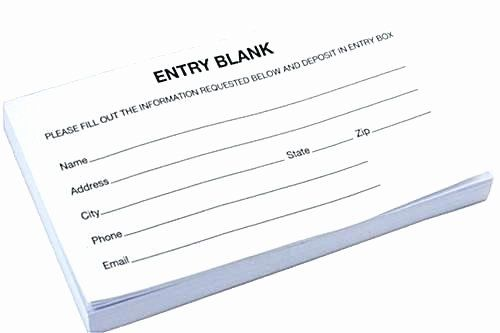 Contest Entry Form Template Word Fresh Ballot Forms Templates Templates Paper Rose Template Words