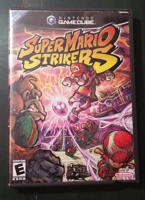 Super Mario Strikers Nintendo GameCube 2005 complete
