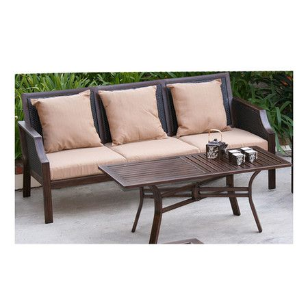 Wayfair outdoor furniture outdoor living spaces for Outdoor furniture wayfair