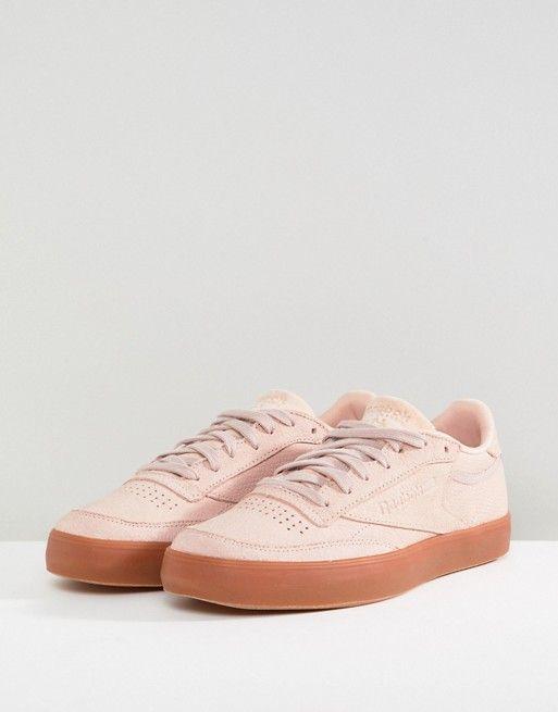pasillo Aplicando Querer  Reebok | Reebok Classic Club C 85 Palm Springs Sneakers In Pink | Tenis