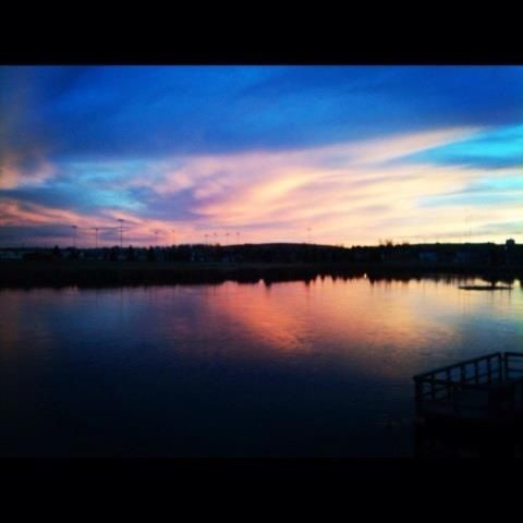 Took this picture of Fishing Lake in gillette wy
