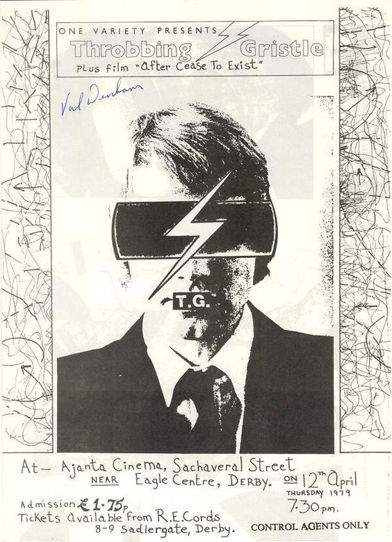 Throbbing Gristle At The Air GalleryWinchester