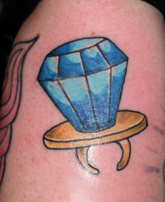 Ring Pop tattoo
