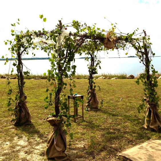 Rustic Outdoor Wedding Chuppah Or Arbor