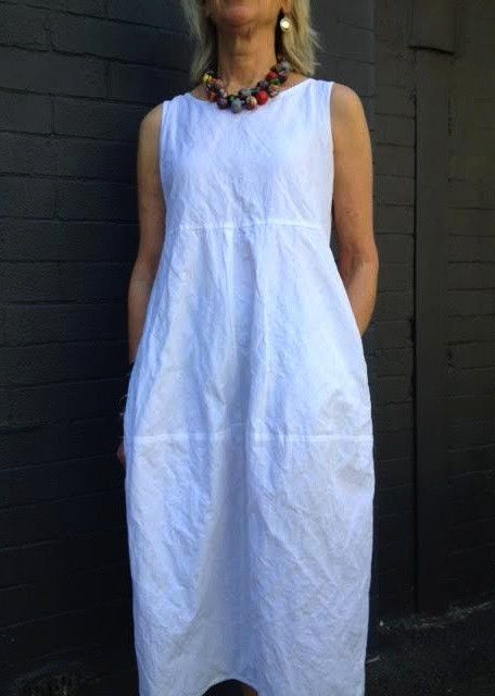 Eva Dress Pattern | Cotton linen, Fabric online and Terry ...
