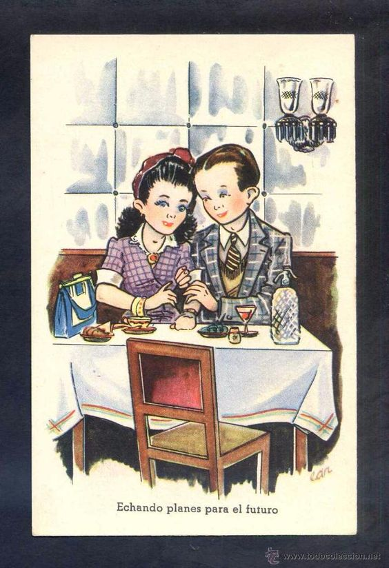 Postales: Ilustrador *Lan* Ed. CM B serie nº 100. Serie completa de 10 postales. Nuevas. - Foto 3 - 4250649
