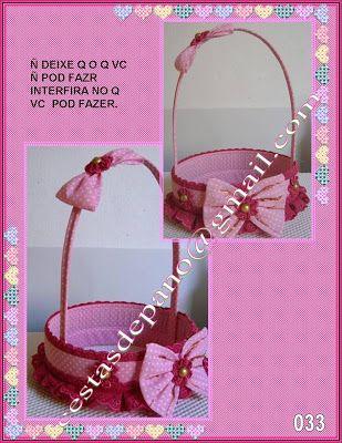 Arte-sanato.comvc: cestas médias para presente