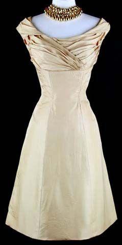 50's cocktail dress