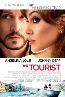 The Tourist (2010)  Revolves around Frank, an American tourist visiting Italy to mend a broken heart. Elise is an extraordinary woman who deliberately crosses his path.