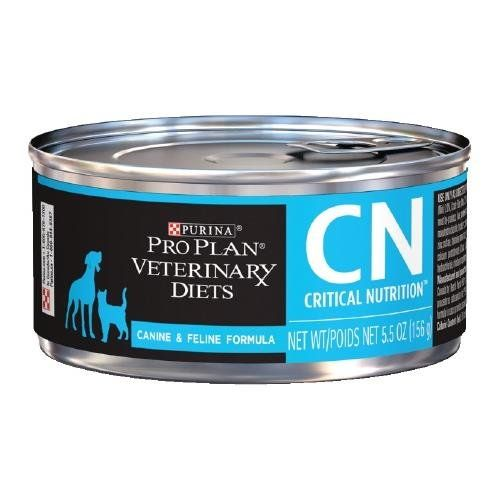 Purina Pro Plan Veterinary Diets Cn Critical Nutrition Formula Canned Dog Cat Food 24 5 5 Oz By Purina Pro Plan Veterinary Diets Canned Dog Food Dog Food Recipes Wet Dog Food