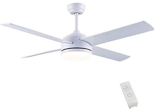 Cjoy Ceiling Fan With Lights Elegant White In 2021 Ceiling Fan Ceiling Fan With Light Best Outdoor Ceiling Fans White outdoor ceiling fan with light
