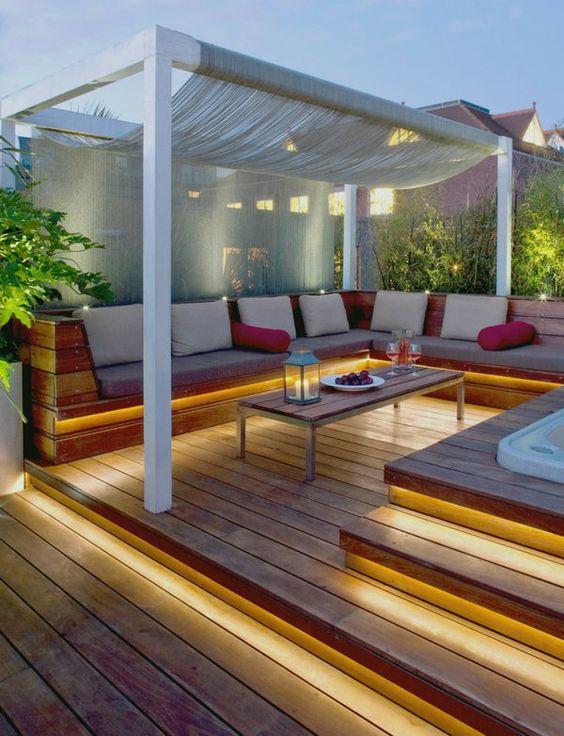 Terrasse en bois ou composite  idées merveilleuses pour l  ~ Terrase En Bois