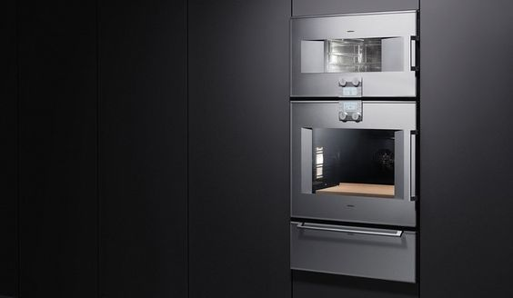 Double with steam oven. Warming drawer not necessary.       Gaggenau Appliances - Extreme Cooking Design Portfolio