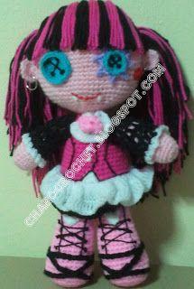 Crochet monsters, Monster high and Crochet monster high on ...