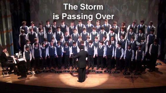The Storm Is Passing Over (Charles A. Tindley)- Canarinhos de Petrópolis...
