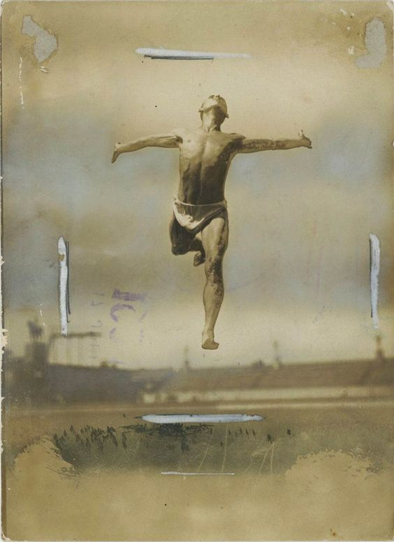 Gerhard Riebicke • Jumping man 26.08.1935