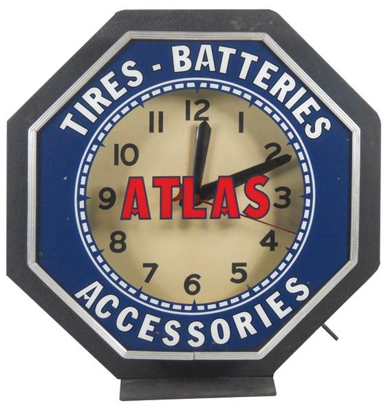 Atlas Tires Batteries & Accessories large neon