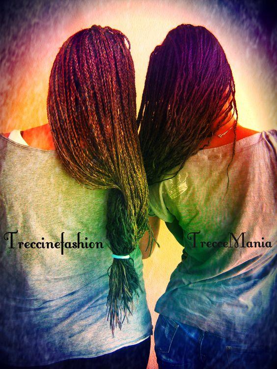***ALLUNGAMENTO DEI CAPELLI CON LE TRECCINE*** Hairstyle by Treccemania & Treccinefashion  WWW.TRECCEMANIA.BLOGSPOT.COM EMAIL: treccemania.style@gmail.com