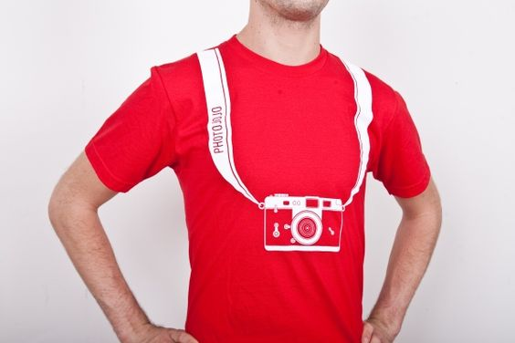 The Camera Strap Tee