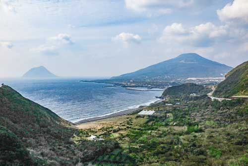 Hachijo Fuji-san, Hachijo Island.