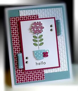 stampin up. I like cards with tabs. I need to do that to more cards