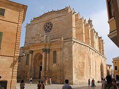Catedral de Ciutadella, Menorca (Islas Baleares).