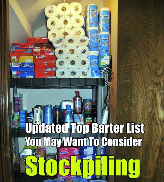 Shtf Emergency Preparedness: Updated Top Barter List You May Want To Consider