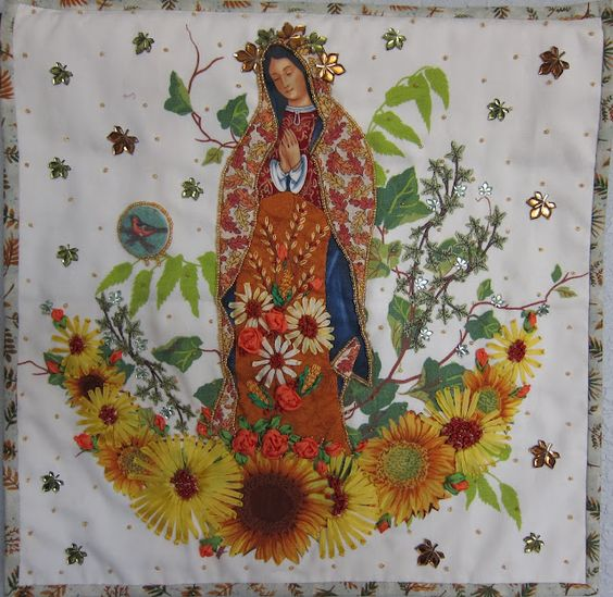 Thinking Out Loud: Sacred Threads:  Fall Madonna