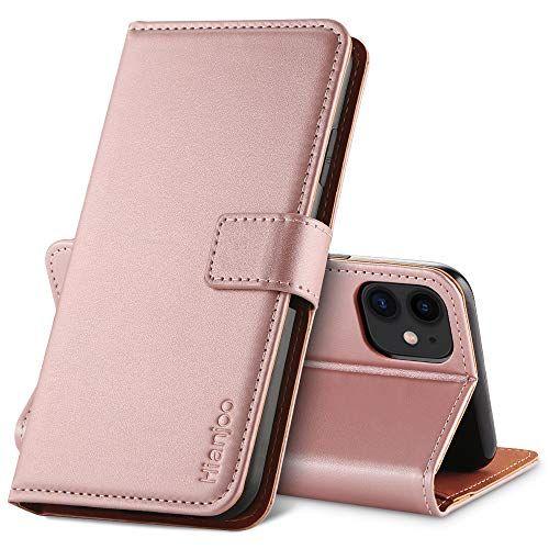 Hianjoo Coque Compatible Pour Iphone 11 Housse En Cuir Avec Magnetique Premium Flip Case Portefeuille Etui Compatible Pour Iphone 11 6 1 En 2020 Etui Portefeuille Cuir