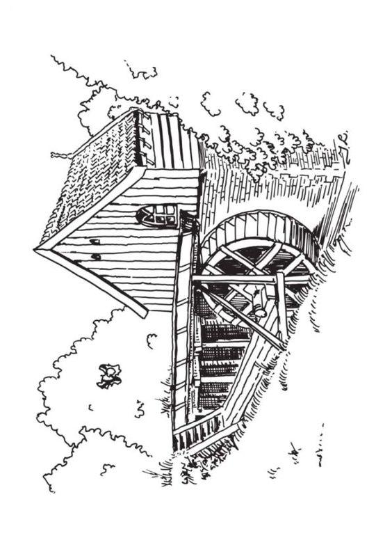 Coloring pages 187 thomas and friends coloring pages - Watermill Coloring Pages Coloring Pages