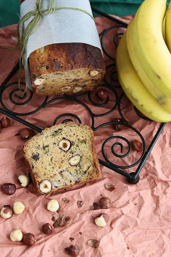 Gluten free brown rice banana bread #recipe #glutenfree