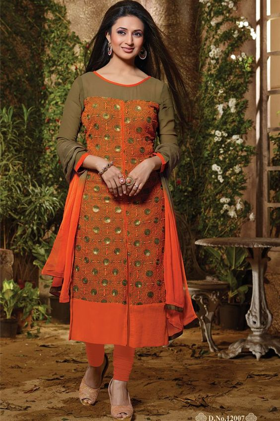 Divyanka Tripathi Pakistani Style Salwar Kameez | suit ...