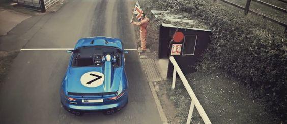 Le concept Jaguar Project 7 présent à Goodwood 2013
