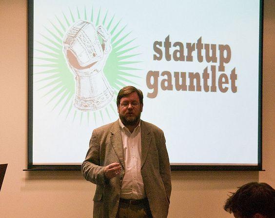 Stephen Fleming Paul Freet introduces Startup Gauntlet by MikeSchinkel, via Flickr