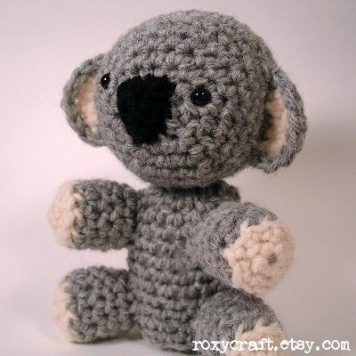 Crochet Pattern Koala Bear : Amigurumi Koala Bear - FREE Crochet Pattern / Tutorial ...