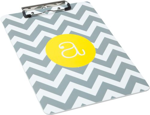 Definitely need an awesome clipboard like this for work!!  SO many pretty color combos...