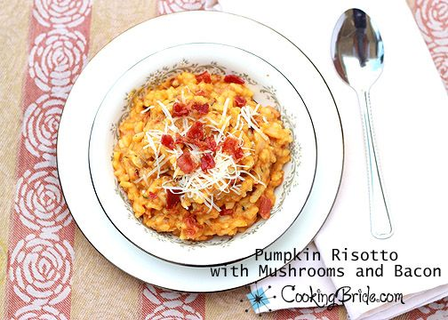 risotto dish creamy risotto and more pumpkin risotto risotto mushrooms ...