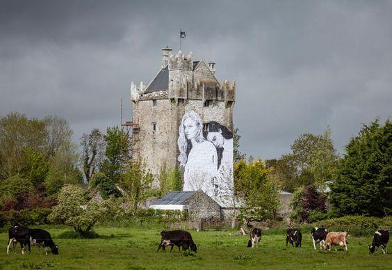 Un mural para apoyar el matrimonio gay en Irlanda