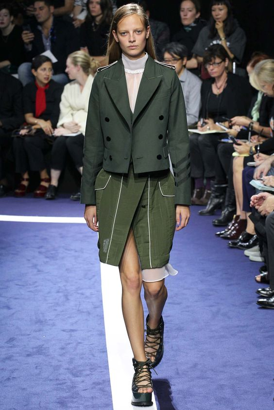 Sacai Spring 2015 Ready-to-Wear - Collection - Gallery - Style.com