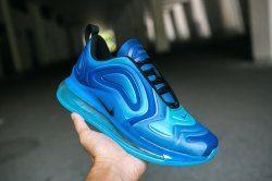 Durable Nike Air Max 720 Royal Blue Navy Blue Men's Casual